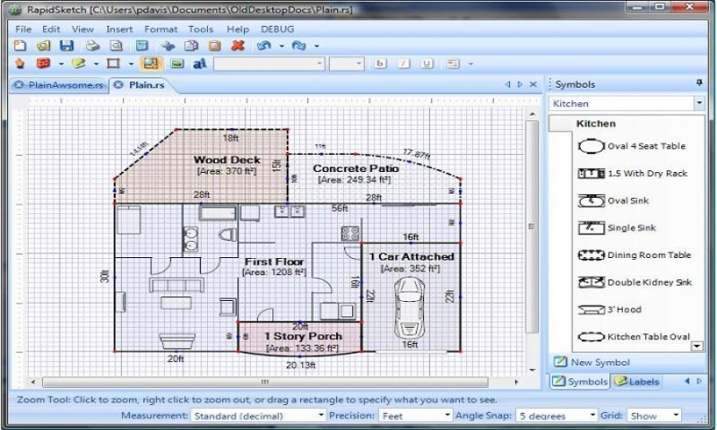 Simple floor plan software floor plan design software free - Free house plan software ...