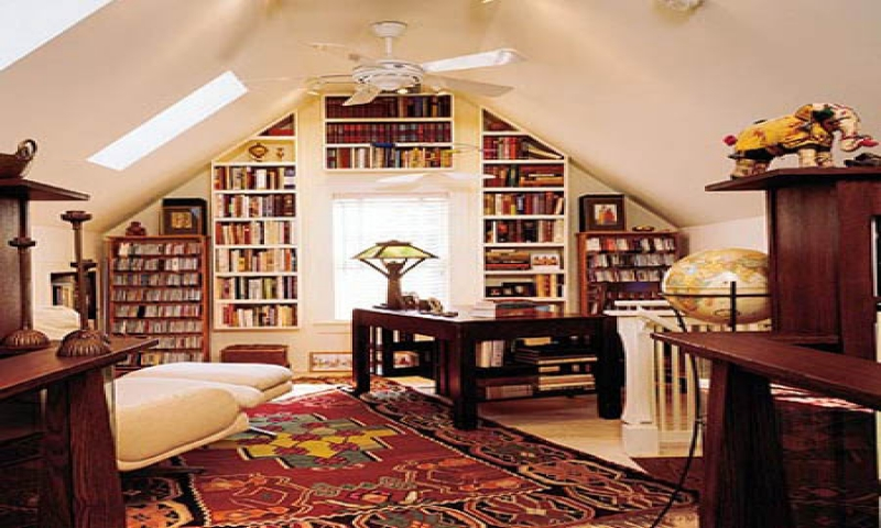Small home office library ideas home library bookcases home designs for small spaces for Small home library design ideas