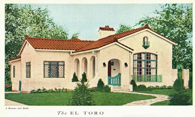 Spanish style bungalow google search dream home pinterest for Spanish bungalow house plans