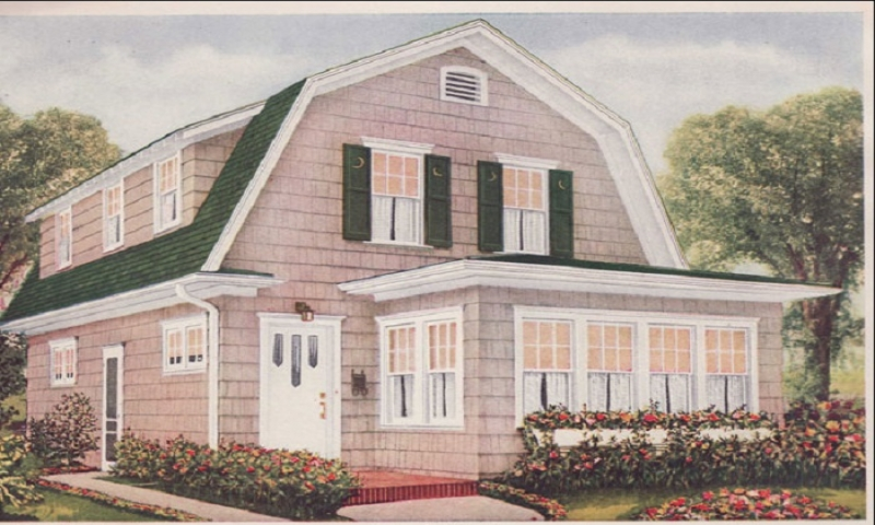 Dutch Colonial Style House Plans Southern Colonial Style