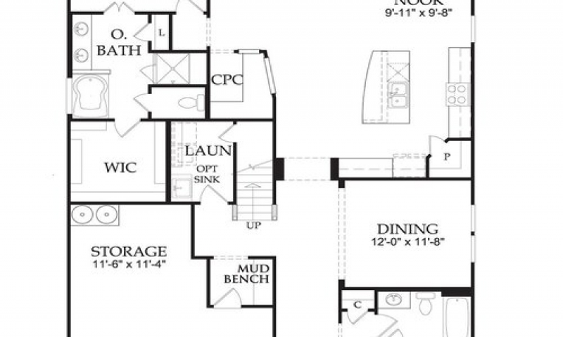Divosta capri model floor plan divosta capri model floor for Capri floor plan