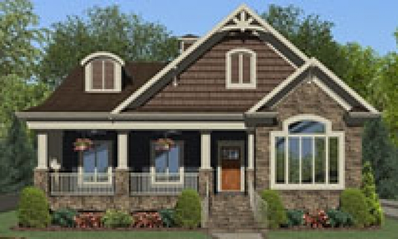 Small house plans craftsman bungalow small craftsman style for Award winning craftsman home designs