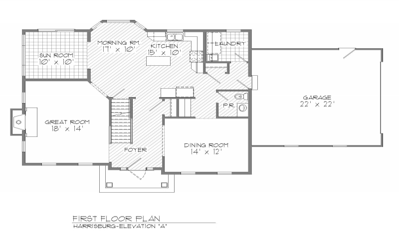 center hall colonial house plans center colonial interior center colonial floor 23265