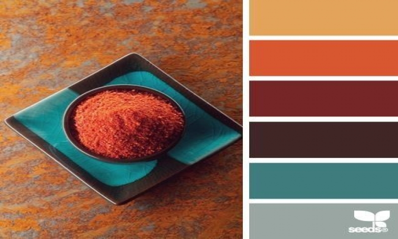Color Palette Moroccan Design Spice Color Palette