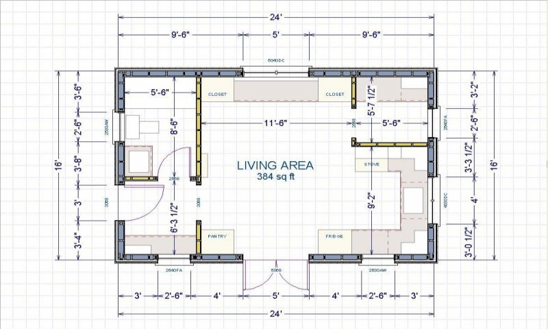 16 x 24 cabin 16x24 cabin floor plans small cabin layout for 16x24 cabin floor plans