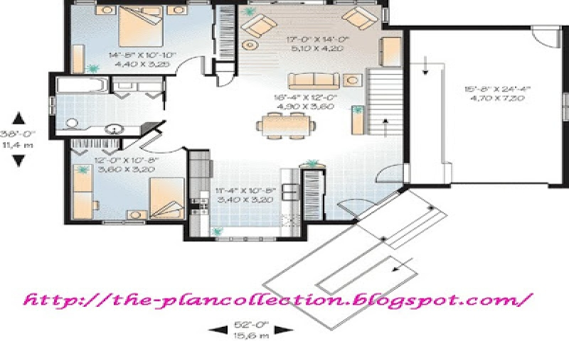 Handicap mother in law suite plans home design idea for Wheelchair accessible house plans
