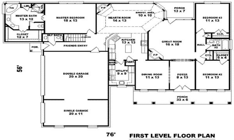 3000 square foot house floor plans house plans 3000 square for Floor plans for 3000 sq ft homes