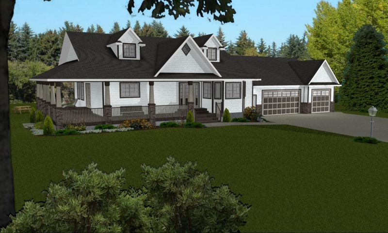 Ranch house plans with walkout basement popular ranch for Best ranch house plans 2016