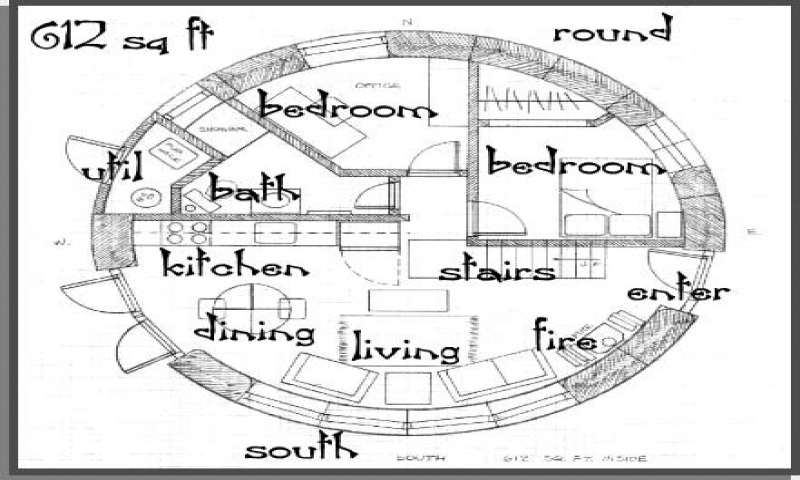Round straw bale house plans straw bale house problems for Circle house plans