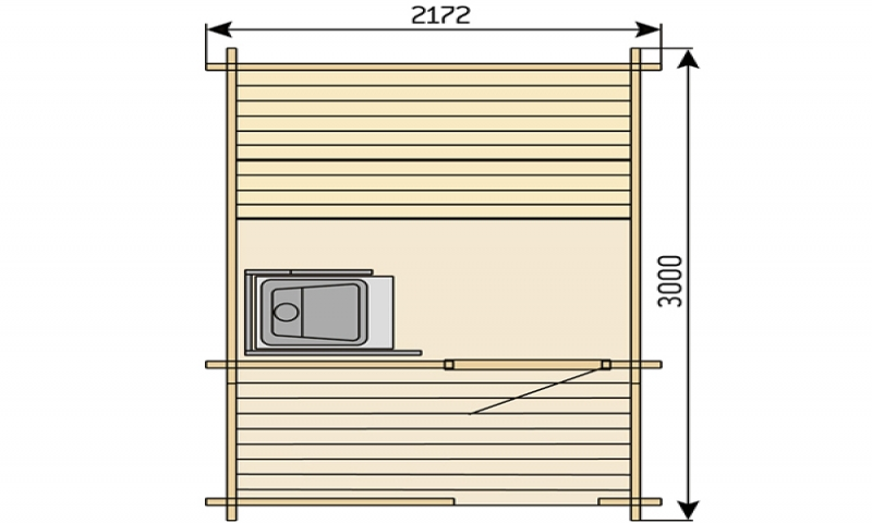Build your own sauna plans finnish outdoor sauna plans for Backyard sauna plans