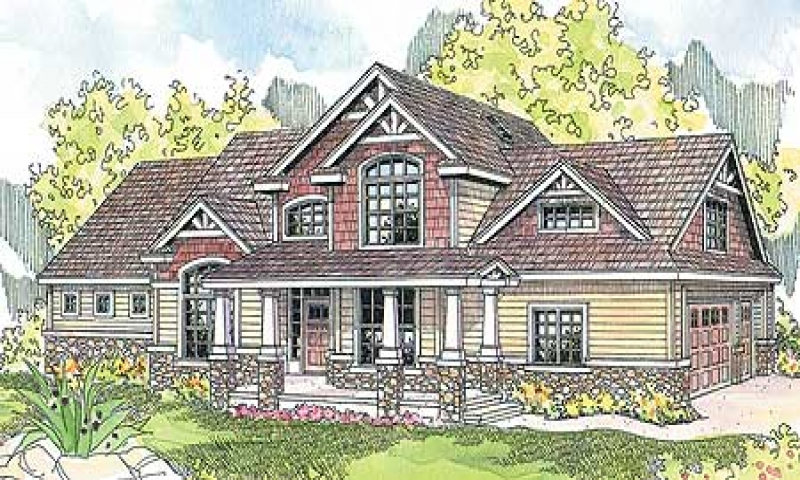 Stone Craftsman Traditional House Plans Stone Craftsman