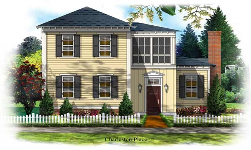 Charleston sc style house plans historic charleston house for Charleston single house plans