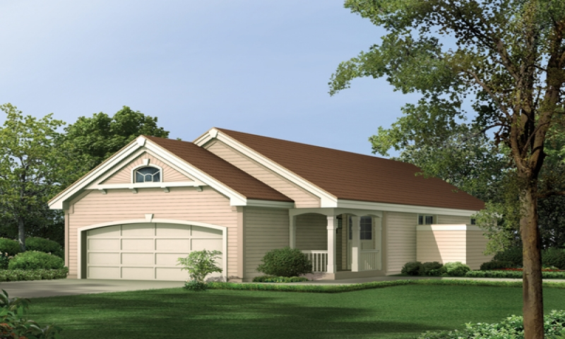 Narrow House Plans with Front Garage Narrow House Plans
