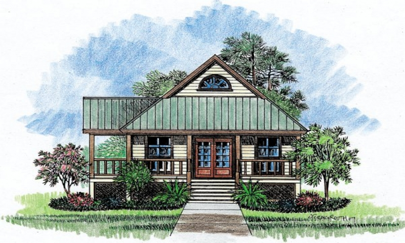 Louisiana house plans dog trot louisiana acadian style for Home plans louisiana