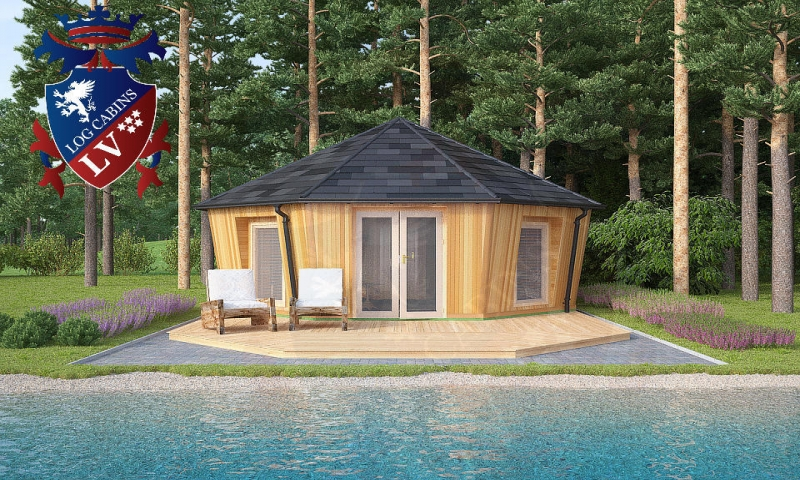 Cartoon log cabin log cabin camping camping cabins plans for Camping cabins plans