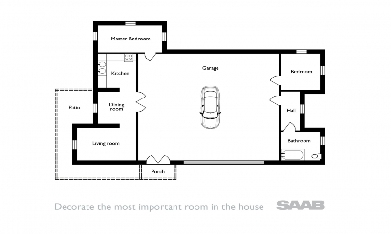 Simple Floor Plans For Houses Simple Affordable House Plans Simple House Floor Plan