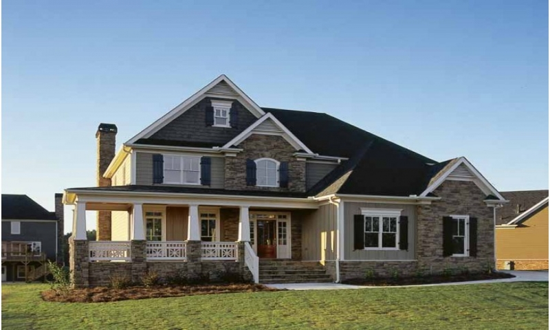 Country house plans 2 story home rustic country house for Rustic country home plans