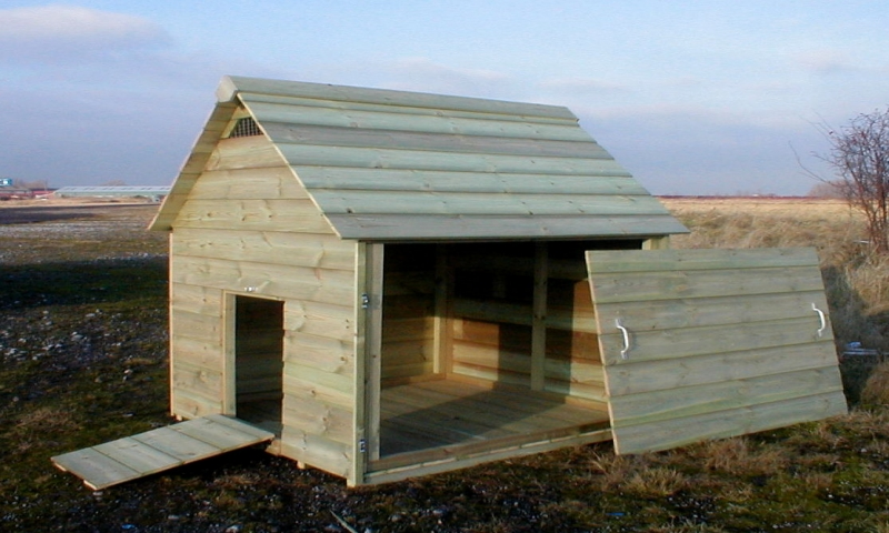Easy Duck House Plans Floating Duck House, plans for ...