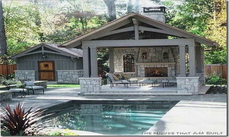 Simple Pool House Designs Pool House Building Plans Old