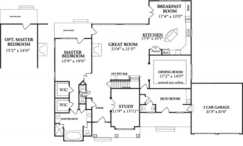 Nantucket style house plans nantucket home designs for Nantucket floor plan