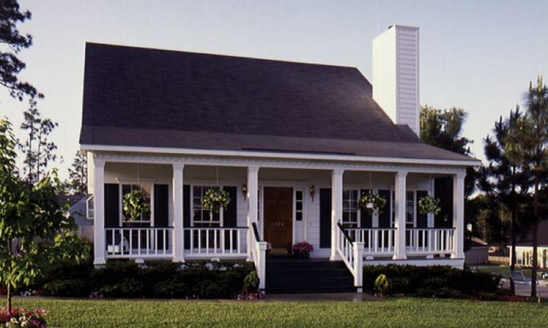 Simple country style house plans georgian style house for Small georgian house plans