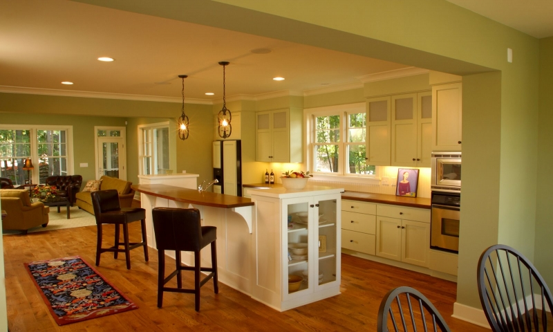 Kitchen Designs For Small Spaces Small Kitchen Designs With Open Floor Plan Open Concept