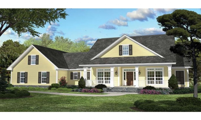 Eplans country house plan country charisma 2100 square for 2100 sf house plans