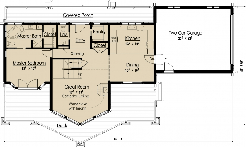 Energy efficient small house floor plans energy efficient for Small efficient home designs