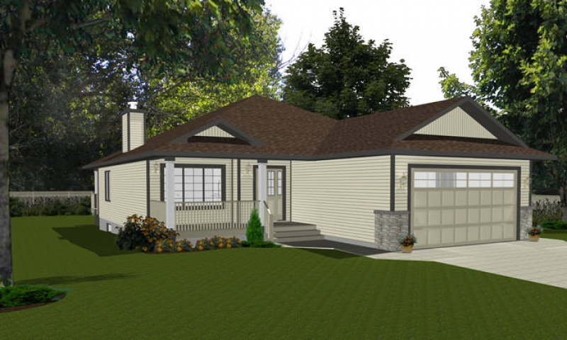 Bungalow house plans with roof deck bungalow house plans for Bungalow house plans with attached garage