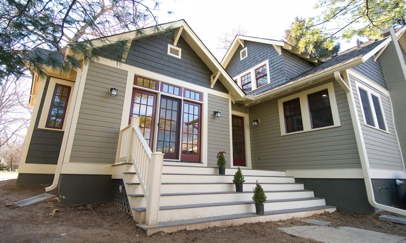 Craftsman Style Bungalow Remodel Inside