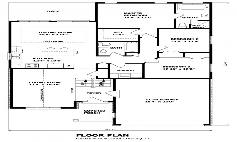 Traditional house plans canadian house plans canadian for Canadian floor plans