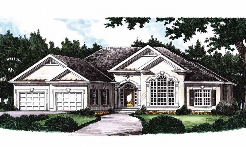 Eplans new american house plan rustic house plans 3 for Eplans modern homes
