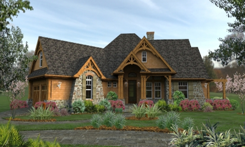 Single story craftsman house plans best craftsman house for Award winning ranch house plans