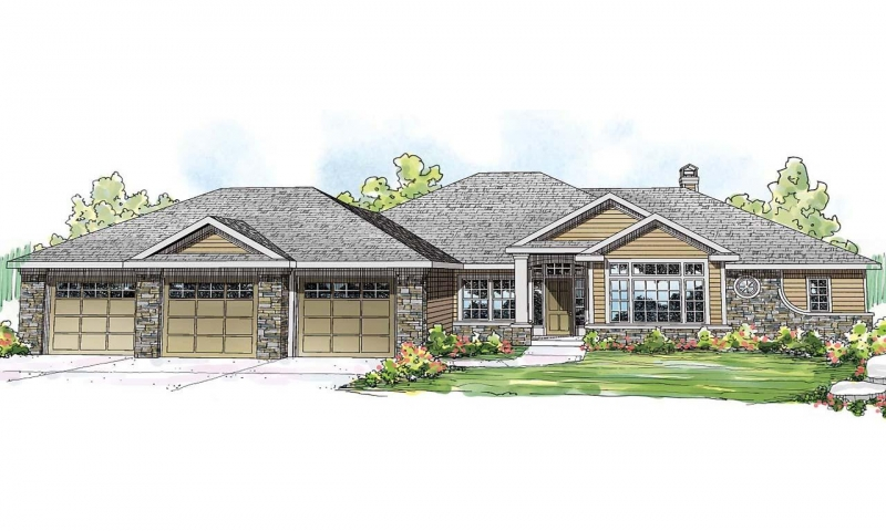 Small lake house lake view ranch house plans lake front for Lake view house plans