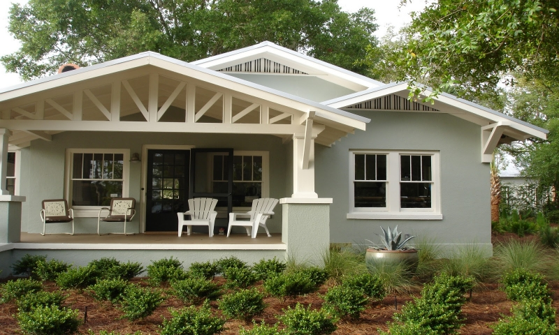 Beautiful bungalow houses 1920s bungalow style house for California bungalow vs craftsman