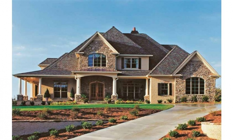 Country cottage house plans french country house plans for Eplans cottage house plan
