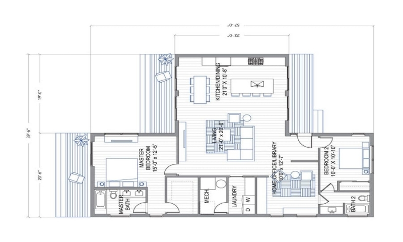 Breeze House Floor Plans: Shipping Containers Into Homes Kits Blu Homes Breeze Aire