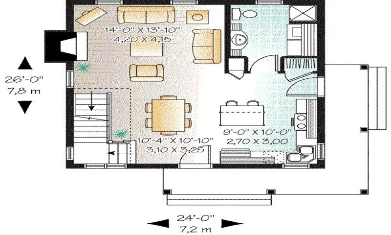 1200 sq foot 2 bedroom house plans square foot conversion for 1200 sq ft ranch house plans